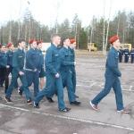 Муниципальный конкурс среди кадетских классов, юнармейских отрядов и военно-патриотических клубов